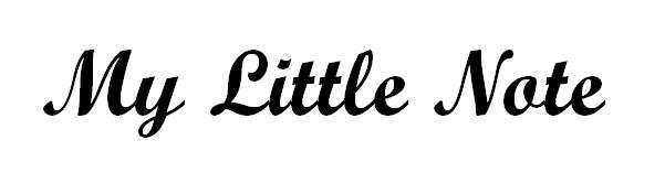 My Little Note